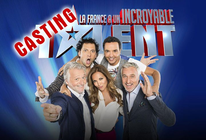 CASTING INCROYABLE TALENT 2017
