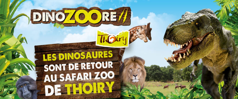 Réalité virtuelle: DinoZOOre revient au Zoo de Thoiry
