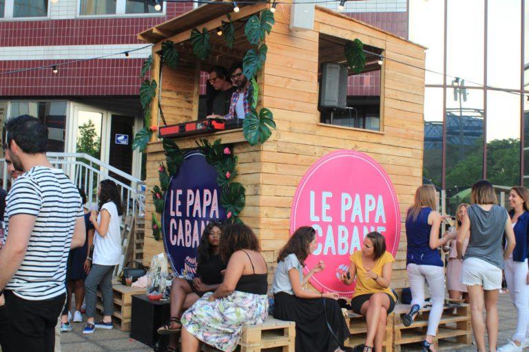 Soirée PAPA CABANE – La terrasse de Paris