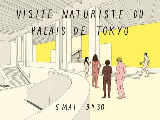 Visite Naturiste du Palais de Tokyo