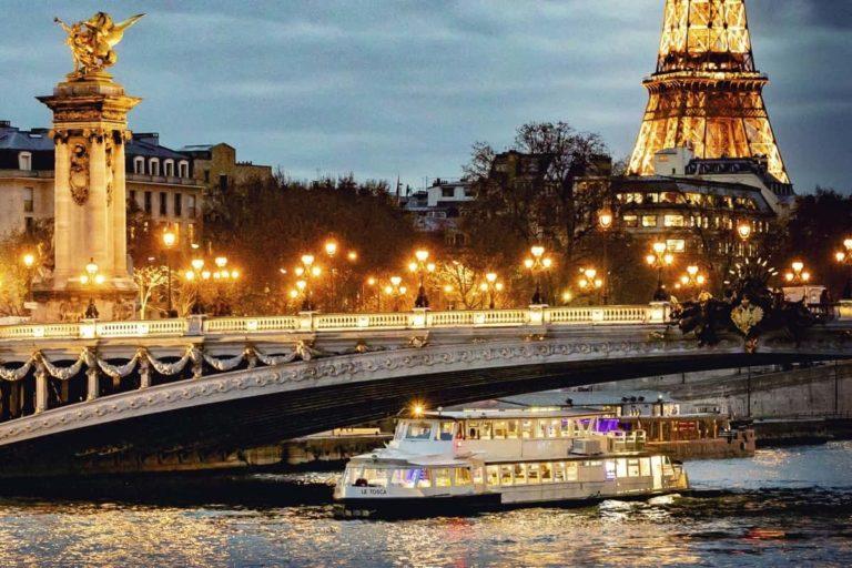 Dîner Croisière Paris à bord du Tosca